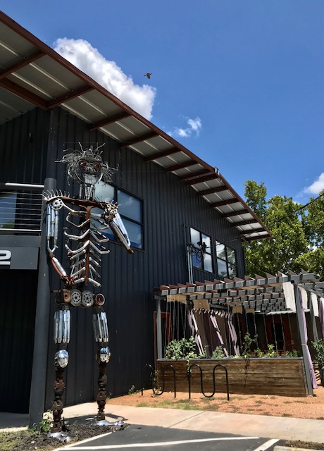 blog metal sculpture