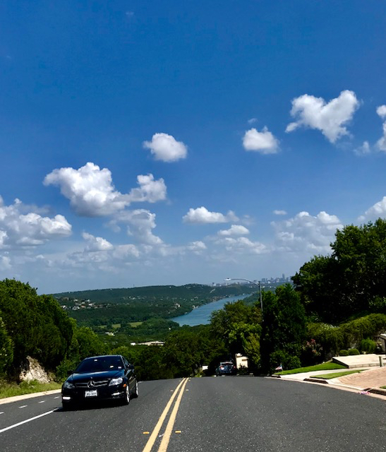 Blog view above Pennybacker